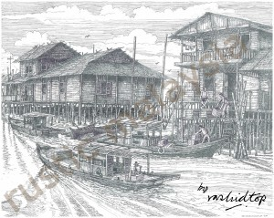 A Fishing Village in Pulau Ketam