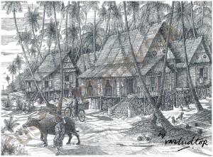 A Malay Village In Melaka