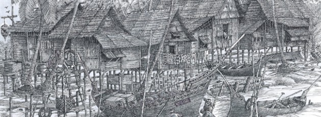 Original – A Fishing Village in Kelantan
