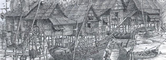 Original – A Fishing Village in Kelantan
