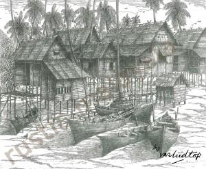 A Fishing Village, East Coast
