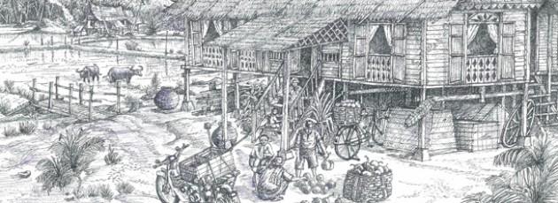 A Minangkabau House II